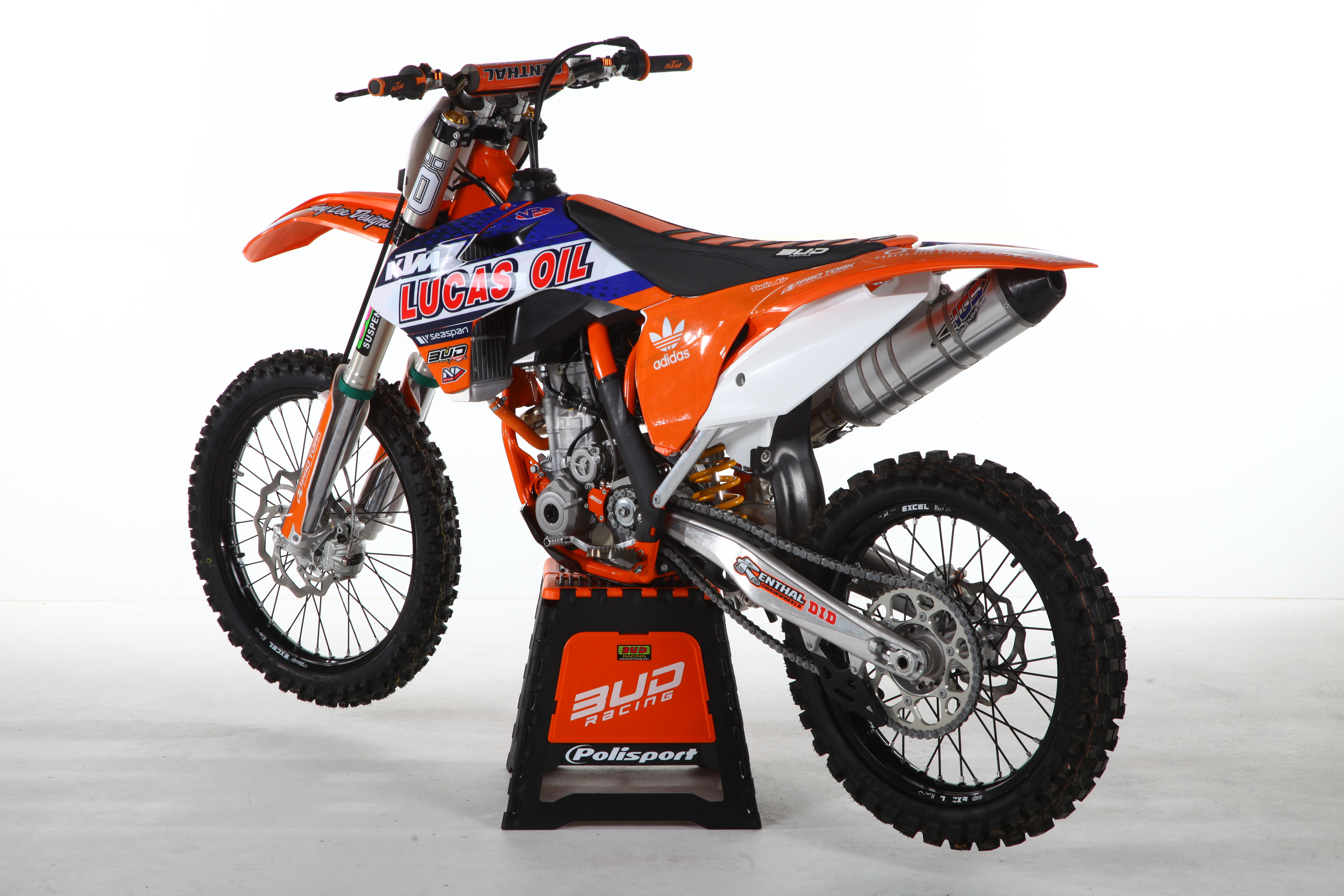 250 SXF 15 GB - Bud Racing